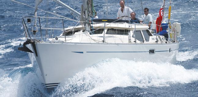 Virata tecnica di manovra di vela