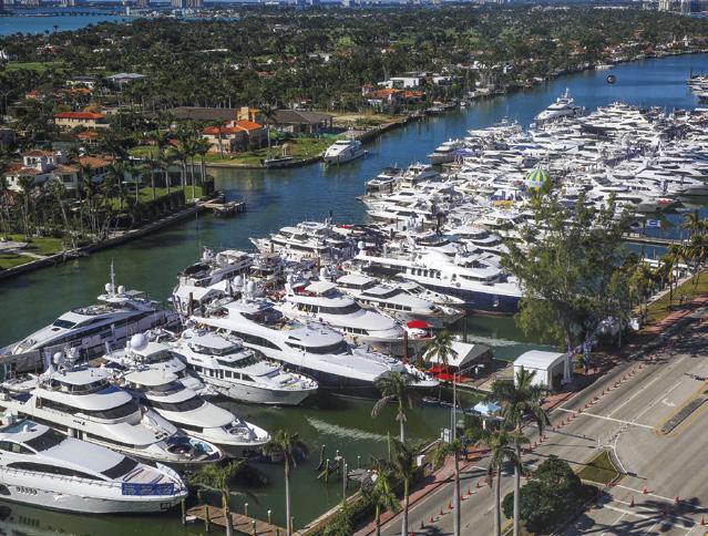 Nautica aprile 2018 Miami Yacht & Boat Show