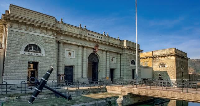 Nautica di maggio 2108 - Museo tecnico navale delle Marina