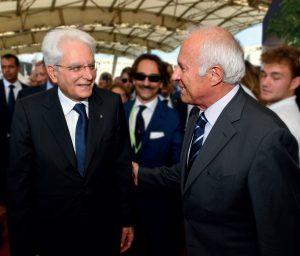 Presidente Mattarella al Salone di Genova 2018