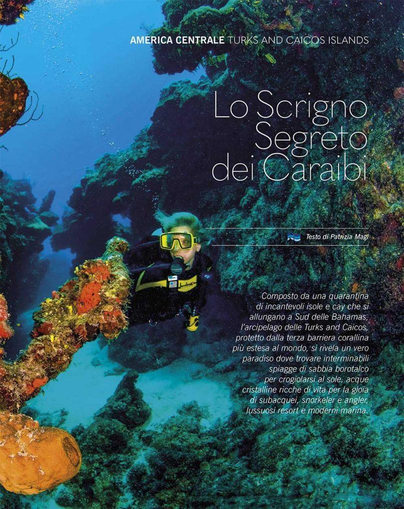 i caraibi sottomarini nautica febbraio 2019