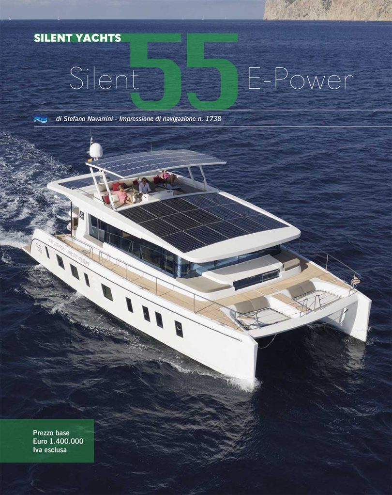 silent yacht nautica febbraio 2019