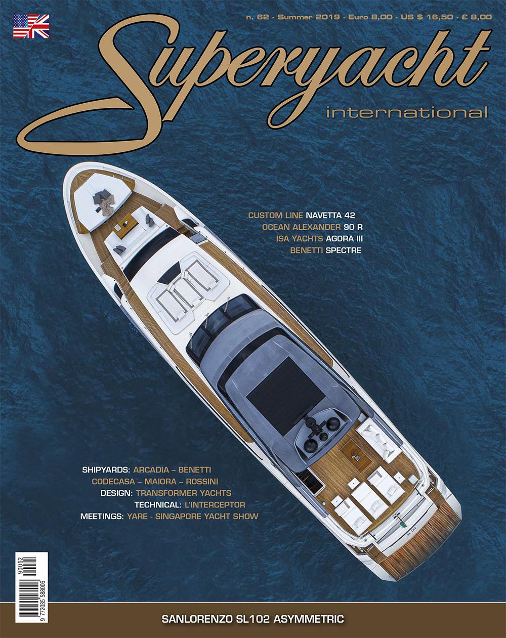 Superyacht 62 copertina