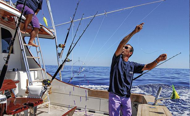 come allestire un fisherman