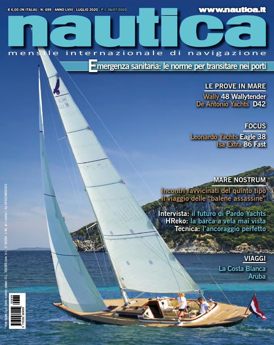 Copertina Nautica 699 Luglio 2020