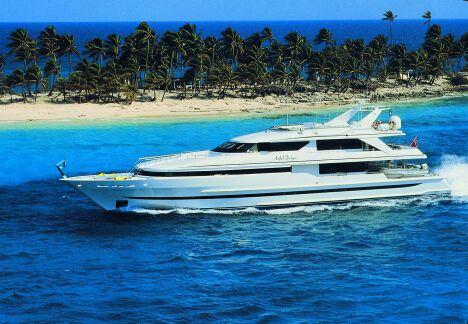 Charter di barche di lusso