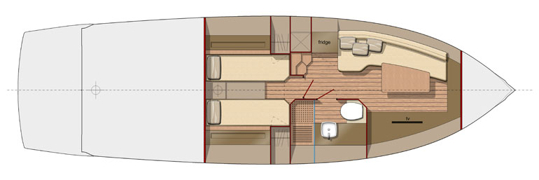 370GT - V04 - LAYOUT - Lower Deck