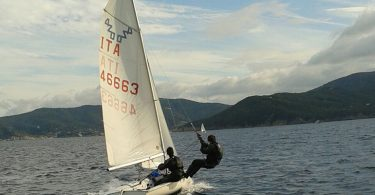 l'equipaggio 420 Samuel Spada-Lorenzo Marzocchini