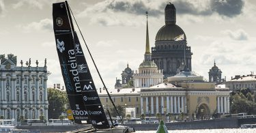 The Extreme Sailing Series 2016. Act 5. St Petersburg. Russia. .  (Photo by Lloyd Images)