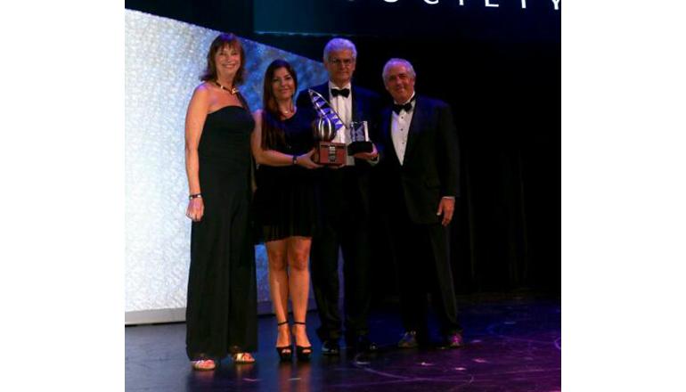 Vincenzo Poerio, CEO Benetti, riceve il premio durante la serata di Gala