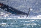 The Extreme Sailing Series 2016. Visit Madeira:Diogo Cayolla, Frederico Melo, LuÌs Brito, Gilberto Conde, Tom Buggy  .Act 8.Sydney,Australia. 8th-11th December 2016. Credit - Jesus Renedo/Lloyd Images
