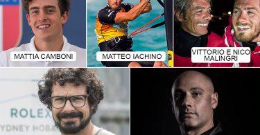 I magnifici cinque_premio Velista dell'Anno