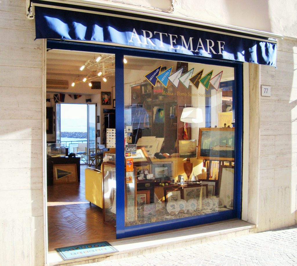 La Galleria Artemare di Porto Santo Stefano