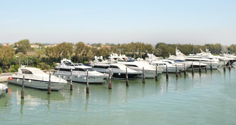 Porto Romano, posti barca lazio