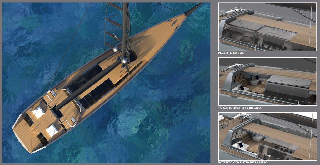 rendering sloop 46m Tous Les Memes