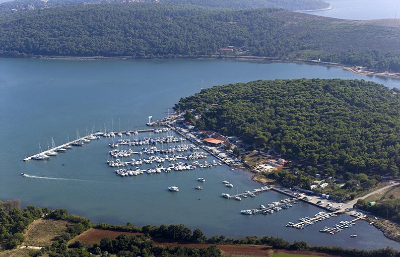 Marina Pomer porti turistici Croazia