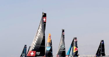 The Extreme Sailing Series 2017. Act1. Muscat. Oman. Credit - Lloyd Images