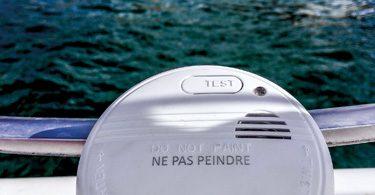 allarme fumo per la barca