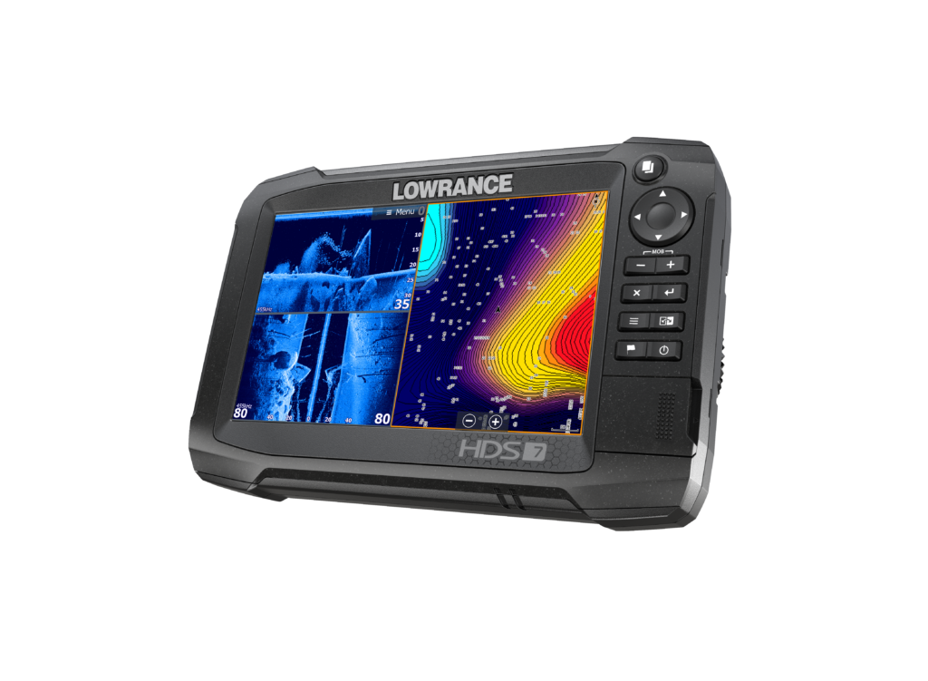 Lowrance HDS-7 Carbon_Left Facing 11-16 _15765