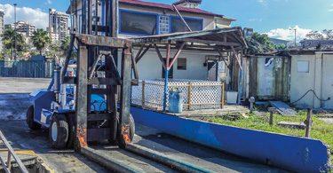 muletti per movimentazione barche