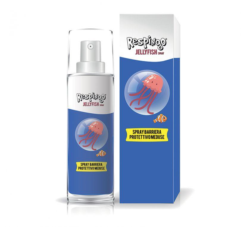 Respingo Jellyfish la lozione antimedusa di Sanifarma