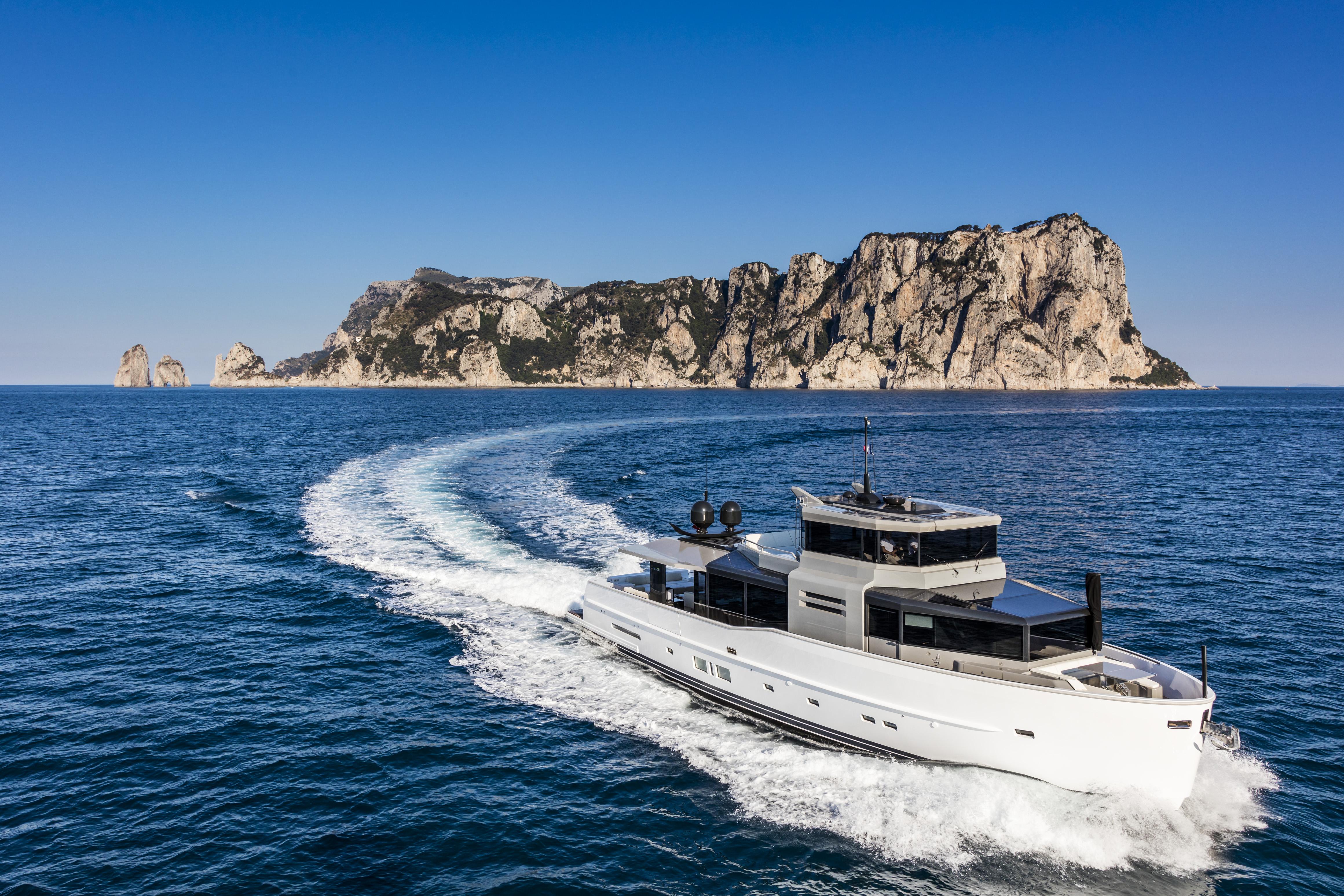 Arcadia yachts: lorizzonte sempre piÙ ricco di novitÁ importanti