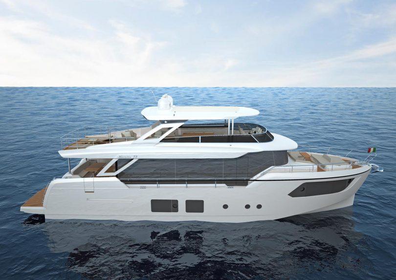 Disegno Bagno Absolute : Barca absolute inautia inautia