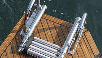 prova in mare della Prince 38cc