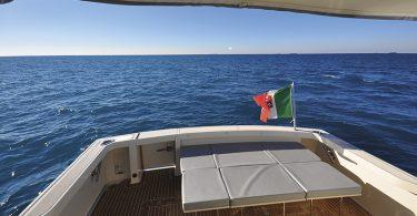 Le immagini della prova in mare della Tuccoli 440HT
