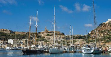 porto di Mgarr a Gozo