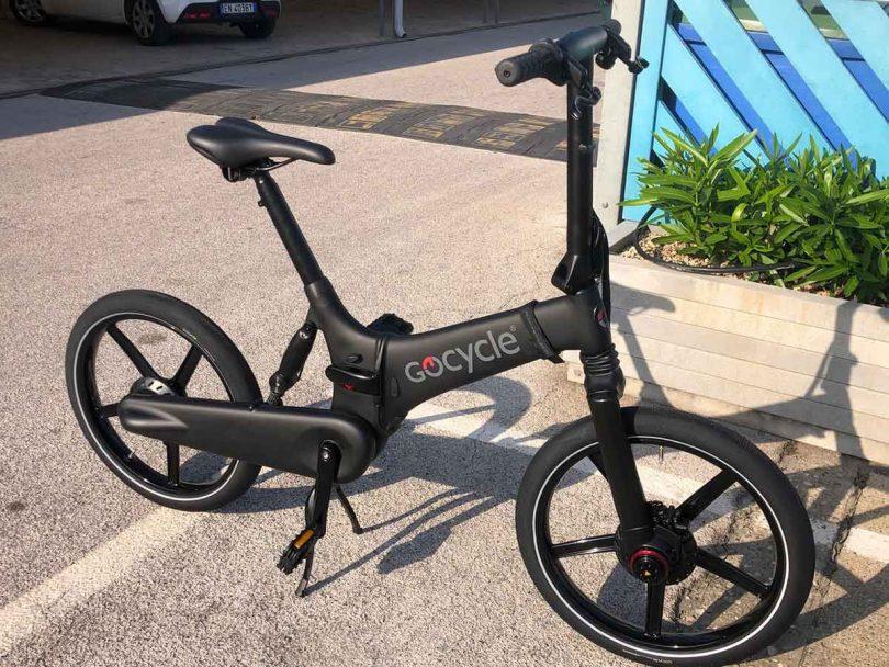 Bici Pieghevole Da Barca.Nuova Bicicletta Pieghevole Con Pedalata Assistita Gocycle Gx