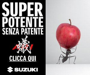 Suzuki super potente senza patente