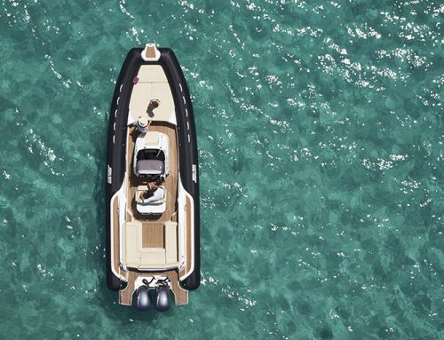 La prova in mare del Joker Boat Clubman 30' New