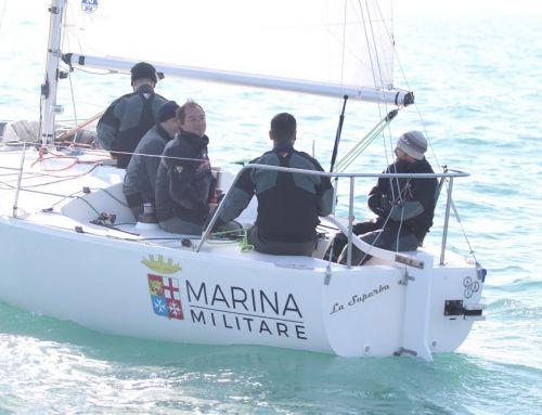 Il J24 Pelle Rossa di Gianni Riccobono è sempre al comando del 45° Invernale Golfo di Anzio e Nettuno