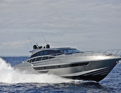 La prova in mare del Rizzardi Yachts IN Six