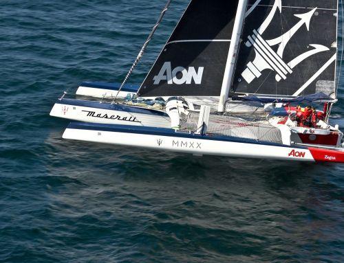 Giovanni Soldini e Maserati Multi 70 al comando della flotta della Cape2Rio
