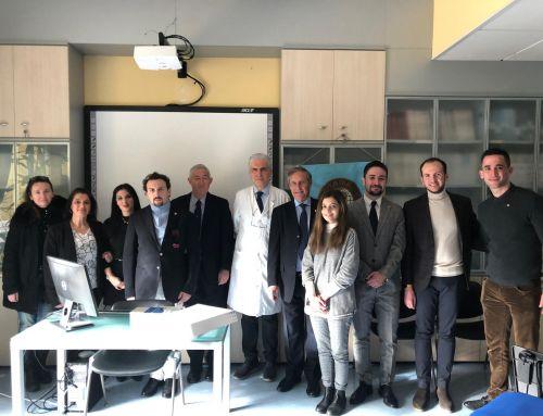 Al Cisanello di Pisa consegnato lo scanner per l'analisi batterica delle ustioni donato grazie al ricavato della 34° Regatalonga
