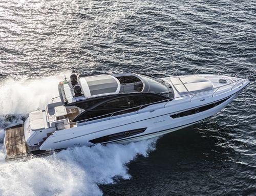 La prova in mare Rio Yachts Sport Coupé 56