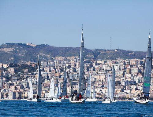 Vela, sesta tappa dell'Invernale di Napoli: Gaba vince il Trofeo Città Torre del Greco