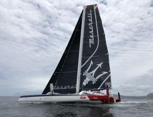 Giovanni Soldini e Maserati Multi 70 secondi nella classifica finale della Caribbean Multihull Challenge