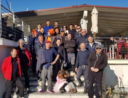 Grande successo di partecipazione dei J24 alla clinic con Andrea Casale a Marina di Carrara