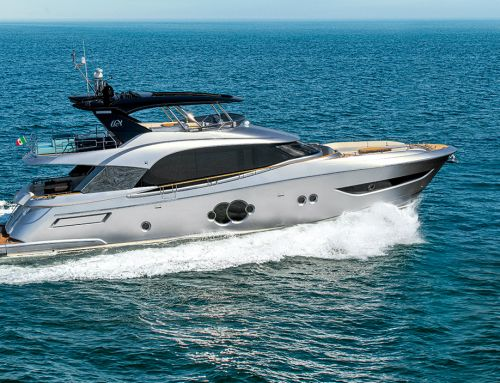 Prova in mare del Monte Carlo Yachts MCY 76