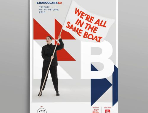 "Solidarietà: in vendita il manifesto ""We are all in the same boat"" della Barcolana"
