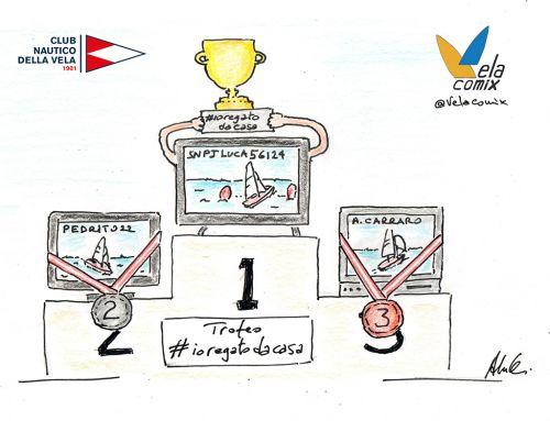 Vela, a Napoli 100 velisti virtuali per il Trofeo #ioregatodacasa