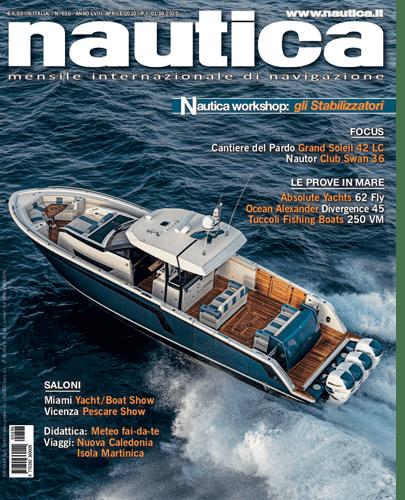 Copertina Nautica 696 Aprile 2020