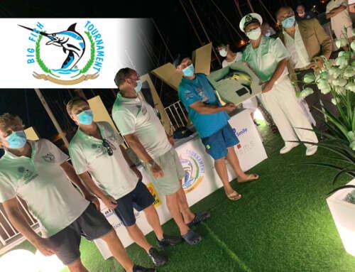 L'equipaggio Fish Eye vince la 1° edizione del Roma Big Fish Tournament