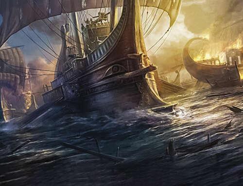 Come navigavano gli antichi, l'uomo e il mare