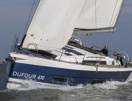 Focus del Dufour Yachts 470