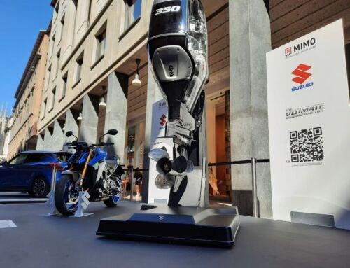 Milano Monza Motor Show 2021: la tecnologia fuoribordo Suzuki nel cuore di Milano