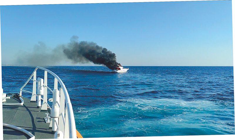 Incendio a bordo